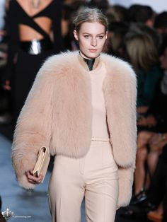 fur coat:some place in the middle